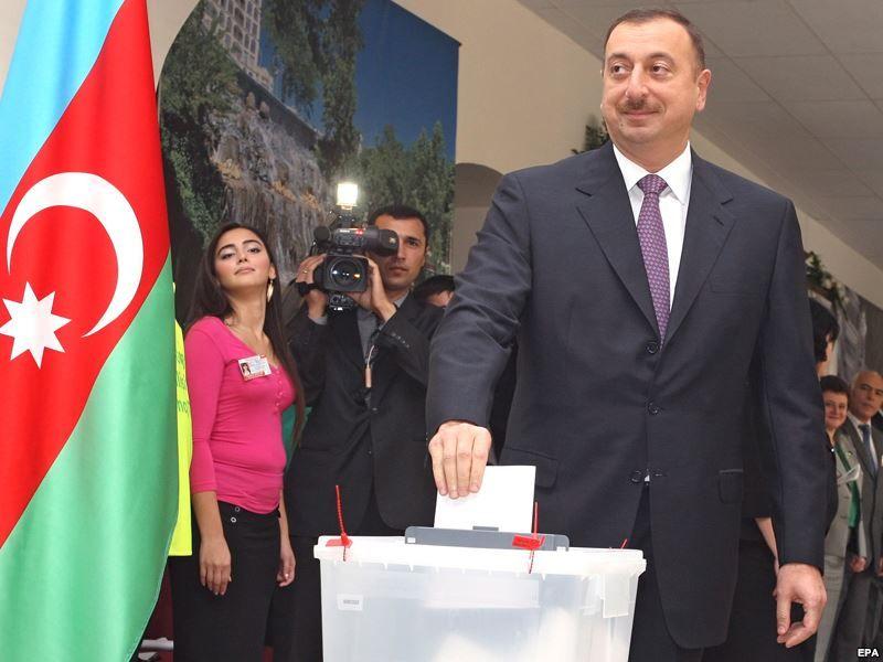 Prezident İlham Əliyev səsvermədə iştirak edib