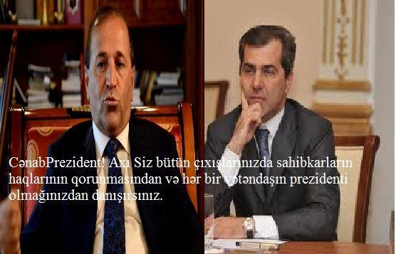Nazim İbrahimovun qardaşından prezidentə şikayət olundu