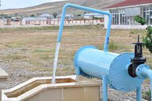 Yardımlı rayonunda içməli su ilə başlı tədqiqat aparılacaq