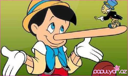 Yalan danışan insan