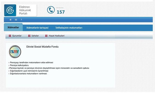 Dövlət Sosial Müdafiə Fondu elektron xidmətlərin sayını 21-ə çatdırıb