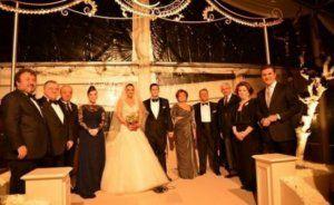 Abbas Abbasov Türkiyə eks-baş nazirinin oğlunun toyunda