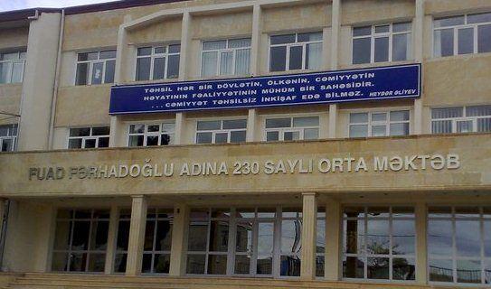 Direktor 14 yaşlı şagirdin evinə polis göndərib - Bakıda