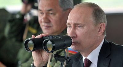 Putin Romaya 50 zirehli maşınla gəlib