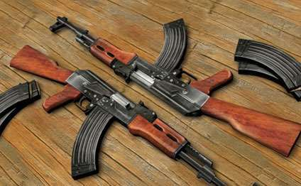 Sabirabadda xeyli sayda silah-sursat tapılıb