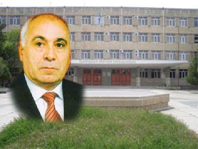 Rektor Nadir Qəhrəmanov işdən çıxarıldı
