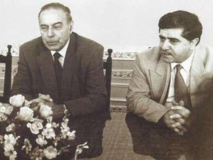 Abbas Abbasov Heydər Əliyevlə cavanlıq şəklini paylaşdı