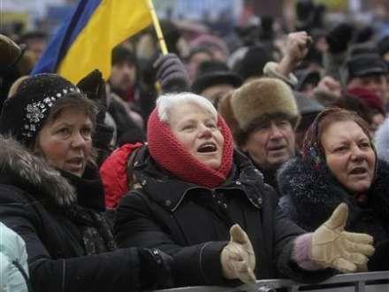 Ukrayna Daxili İşlər Nazirliyi: Kiyevdəki iğtişaşlar əvvəlcədən planlaşdırılıb