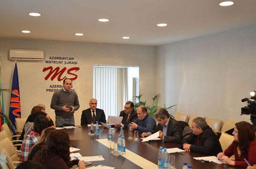 Azərbaycan Mətbuat Şurası və «Azərsun Holdinq»  jurnalistlər üçün müsabiqə elan etdi