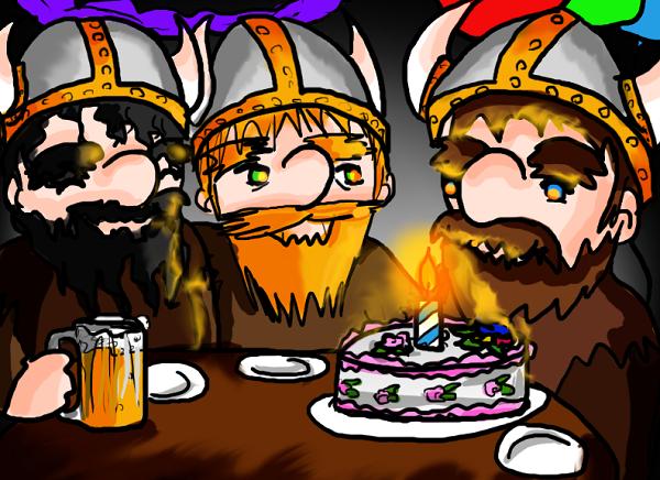 Поздравления викингов с днем рождения 54