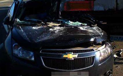 Bakıda ağır yol qəzası: sürücü öldü (FOTO)