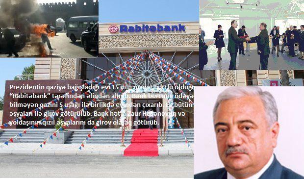 """ŞOK""""Rabitəbank"""" Qarabağ qazisini evindən sürgün edibmiş"""