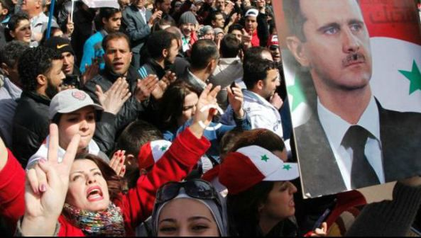 Azeri Sahar Tv| В Москве прошел митинг солидарности с народом Сирии |
