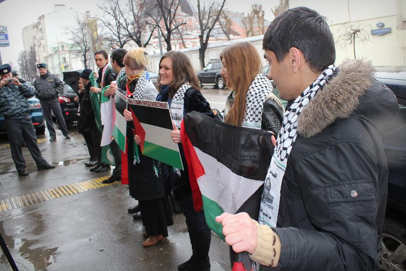 Azeri Sahar Tv | Всемирный марш на Иерусалим в Москве  |