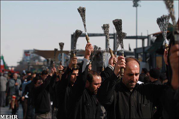 Azeri Sahar Tv | День Арбаин - сороковой день мученической смерти Хусейна в Москве |