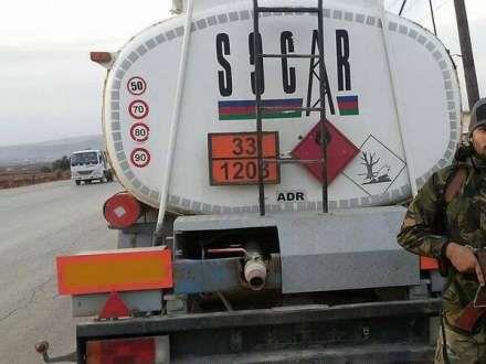 """Suriyada mücahidlər """"SOCAR""""ın avtomobilini ələ keçiriblər? (FOTO)"""