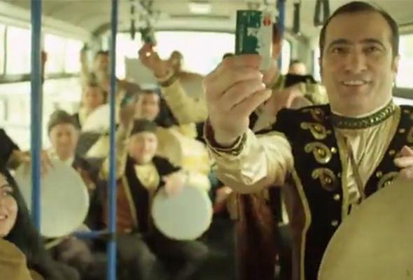 """""""Natiq Ritm Qrupu"""" nəqliyyat kartının reklamına çəkildi - VIDEO"""
