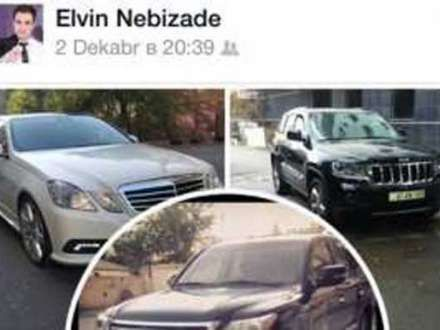 Oğlu bahalı avtomobillərini nümayiş etdirən prokuror işdən qovuldu