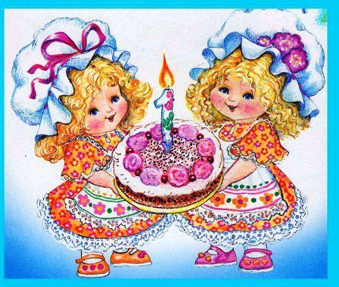Поздравление двойняшек с днем рождения 1 год