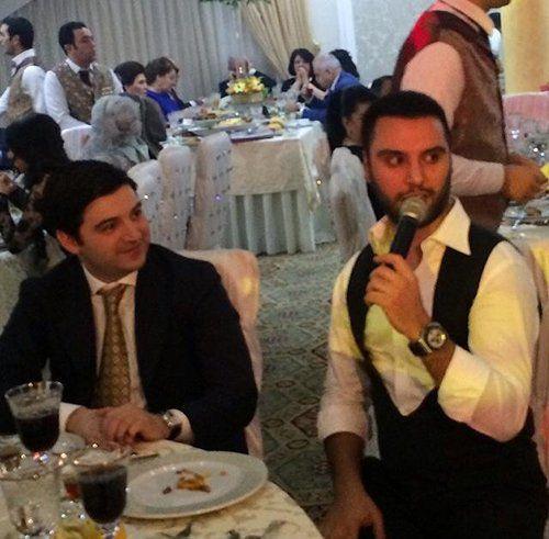Nazir oğlu məşhur türk müğənnisi ilə toyda - (Foto)