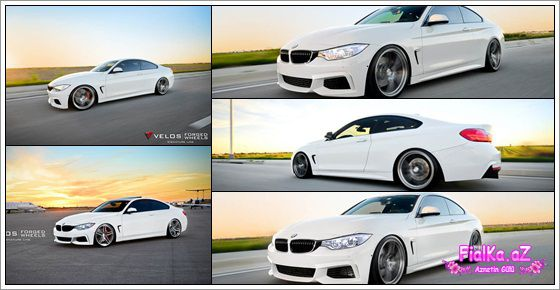 BMW 435i-ı bəzədilər