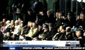 """Gürcü KİV-ləri: """"Putin Soçidə separatçı liderləri İlham Əliyevlə yanaşı oturdub"""""""