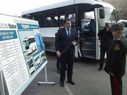 Çağırışçıların daşınması üçün yeni avtobuslar alındı- FOTO