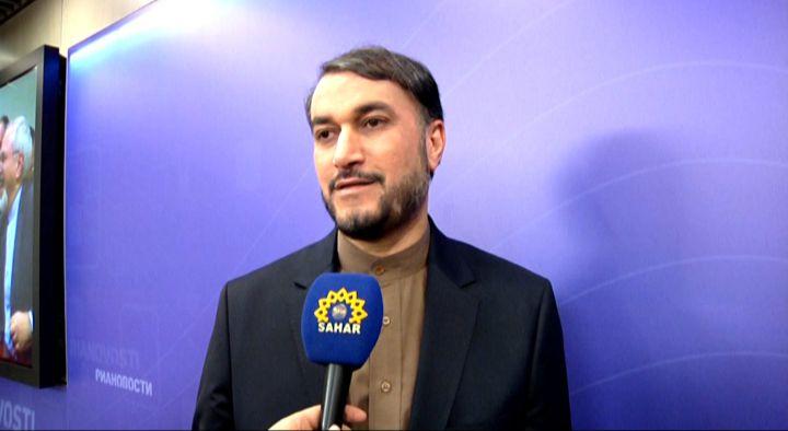 Azeri Sahar Tv | Пресс-конференция Замглавы МИД Ирана - о ситуации на Ближнем Востоке |
