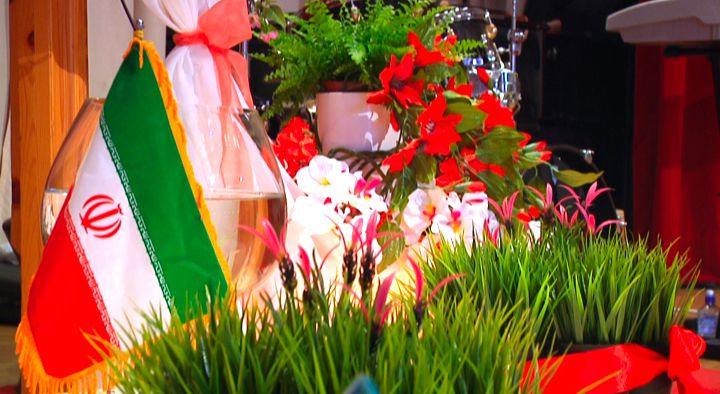 Azeri Sahar Tv | Иранский народ отпраздновали Новруз в Москве |