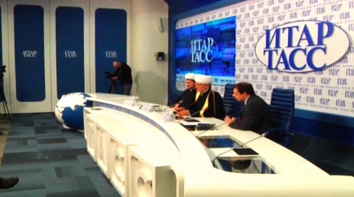 Azeri Sahar Tv | Пресс-конференция муфтия шейха Равиля Гайнутдина по итогам поездки в Крым |