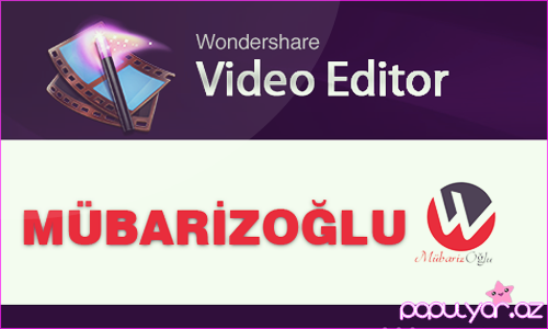 Wondershare Video Editor - Lisensiya yazmaq qaydası