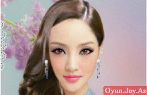 Çinli Qız Makiyajı