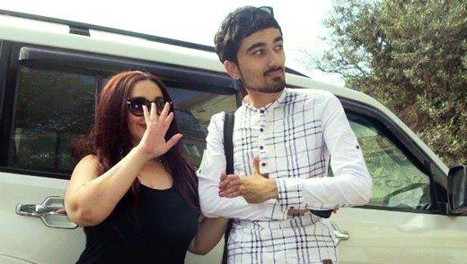 Aktrisa Naibə Allahverdiyeva və şoumen Orxan Abbasov