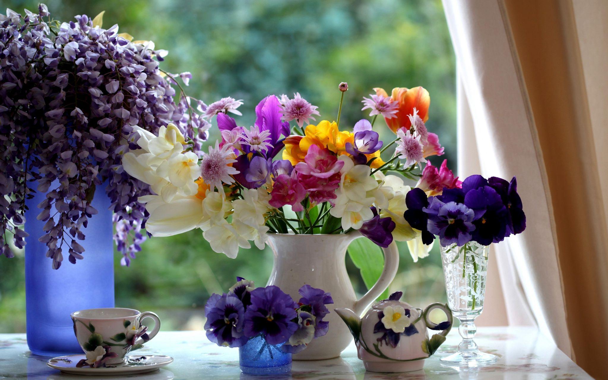 Kрасочные цветы *5*