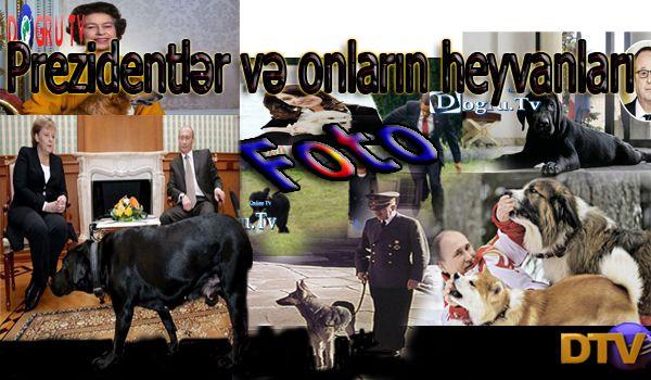 Prezidentlər və onların heyvanları (FOTO)