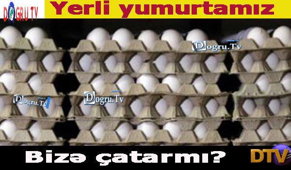 Yerli yumurtamız...