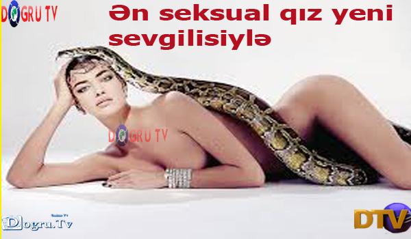 Ən seksual qız yeni sevgilisiylə (FOTO)