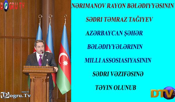 Təmraz Tağıyev Assosiasiya sədri seçildi