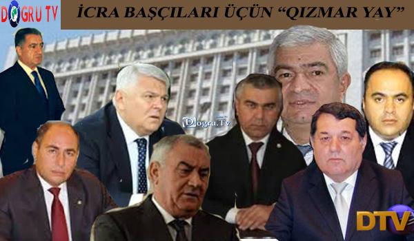 """İcra Başçıları üçün """"qızmar yay"""": korrupsinonerlər """"əriyəcək"""" - təfsilat"""