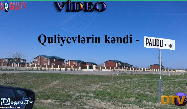Quliyevlərin kəndi - Palıdlı (VİDEO)