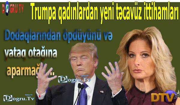 Trumpa qadınlardan yeni təcavüz ittihamları