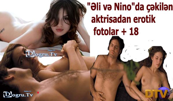 """""""Əli və Nino""""da çəkilən aktrisadan inanılmaz fotolar + 18"""