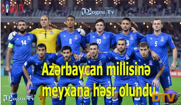 Azərbaycan millisinə meyxana həsr olundu