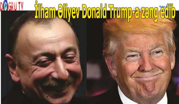 İlham Əliyev Donald Trump-a zəngi
