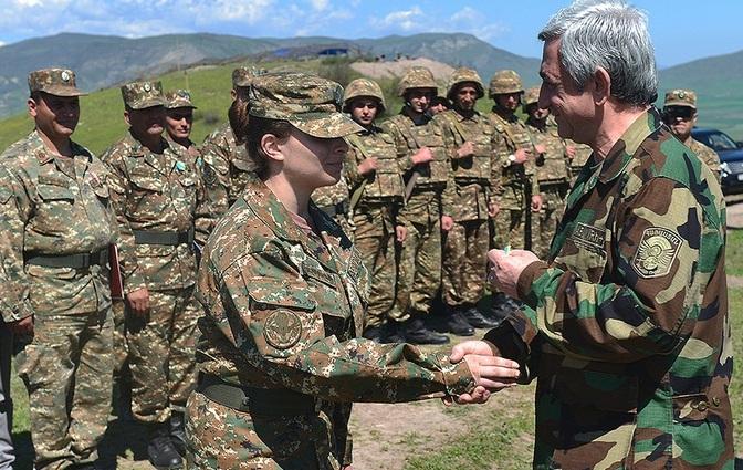 Ermənistan ordusunda niyə qadınlar?