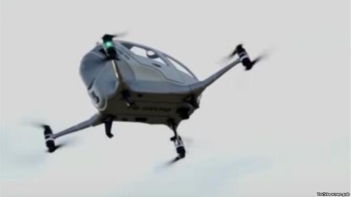 Dubayda uçan taksilər- [Video]
