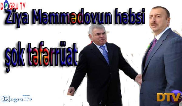 Ziya Məmmədova həbs təhlükəsi - şok təfərrüat