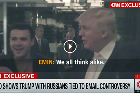 CNN kompromat kimi Tramp-Ağalarov görüşünün videosunu yaydı – VİDEO