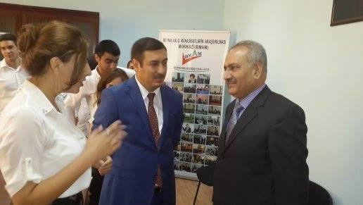 BMAM Sədri Rufiz Qonaqov Pakistan səfiri Xalid Usman Qayser ilə görüşüb