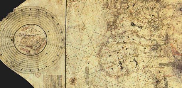 Kolumbun xəritəsində şifrəli yazı aşkarlandı